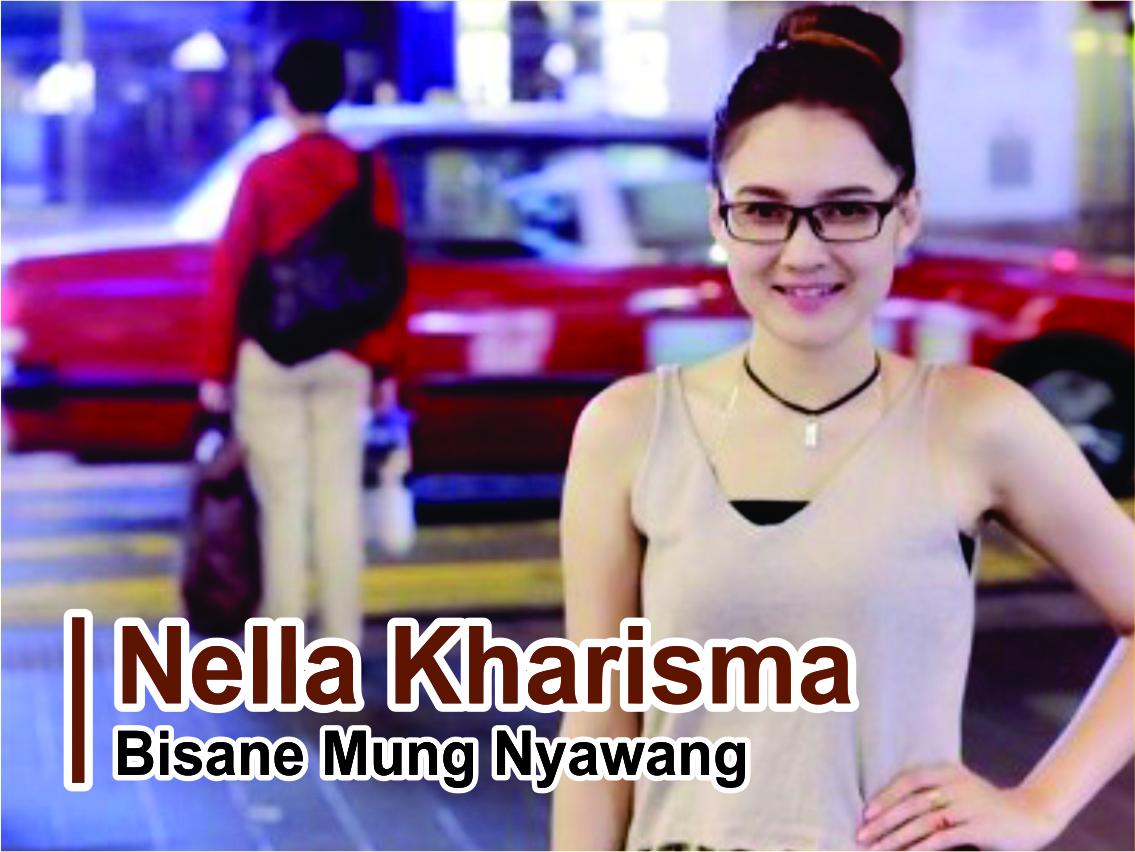 Lirik Lagu Bisane Mung Nyawang - Nella Kharisma feat Via Vallen dari album the best love chord kunci gitar, download album dan video mp3 terbaru 2018 gratis