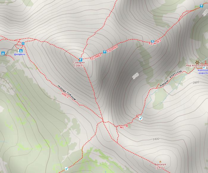 Одна из разновидностей карт OpenStreetMap