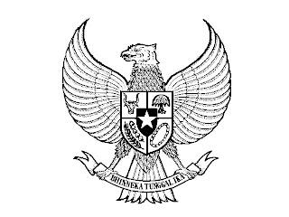 Gambar Mewarnai Garuda Anak Tk Dan Sd