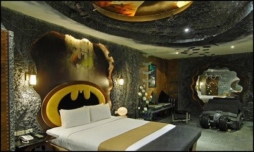 Elegant Batman Themed Bat Cave Decorating Ideas