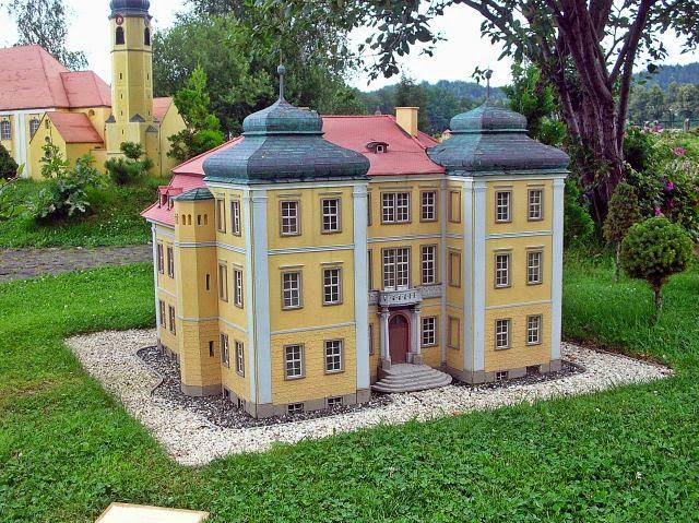 park miniatur, Kowary, zabytki Dolnego Śląska