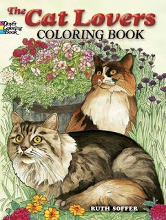 Adult Coloring Book for cat lovers