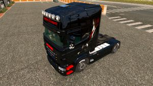 Nordic Transports Hitman for Scania RS skin