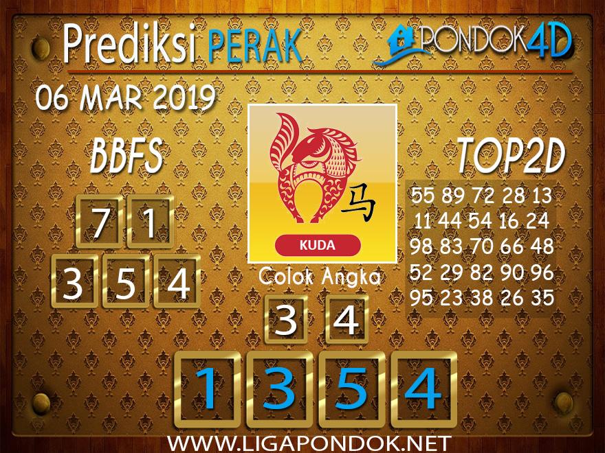 Prediksi Togel PERAK PONDOK4D 05 MARET 2019