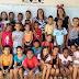 Festa em homenagem ao Dia das Crianças na escola do povoado de Manguinhas