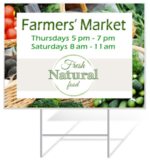 Farmers Market Lawn Sign | Lawnsigns.com