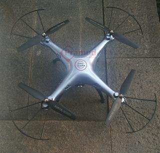 syma indonesia, cara menyambungkan, konek, conect drone syma ke handphone android - pramud.com
