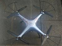 Cara menghubungkan kamera FPV drone syma di HP Android