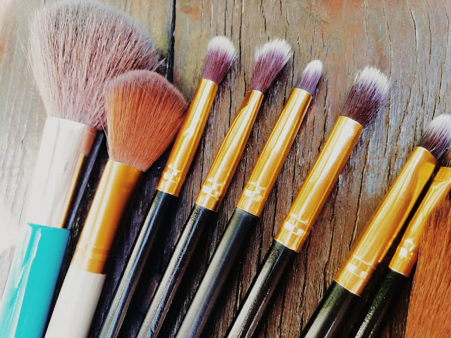 pędzle | brushes | Aliexpress brushes | makeup | tanio