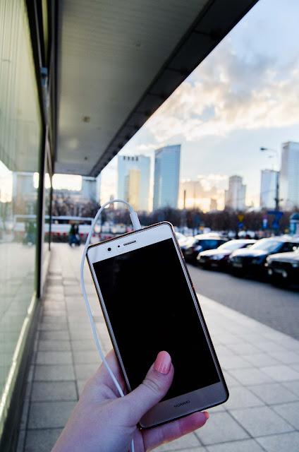 Warszawa Centrum, Huawei auioprzewonik.