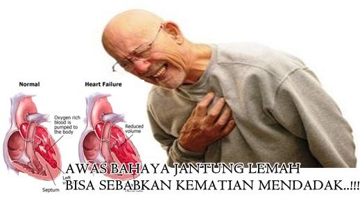 pantangan penyakit jantung lemah