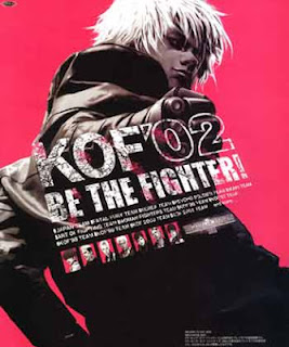 The King of Fighters 2002+arcade+game+portable+retro+fighter+art+flyer