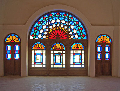 Stained Glass in Iran