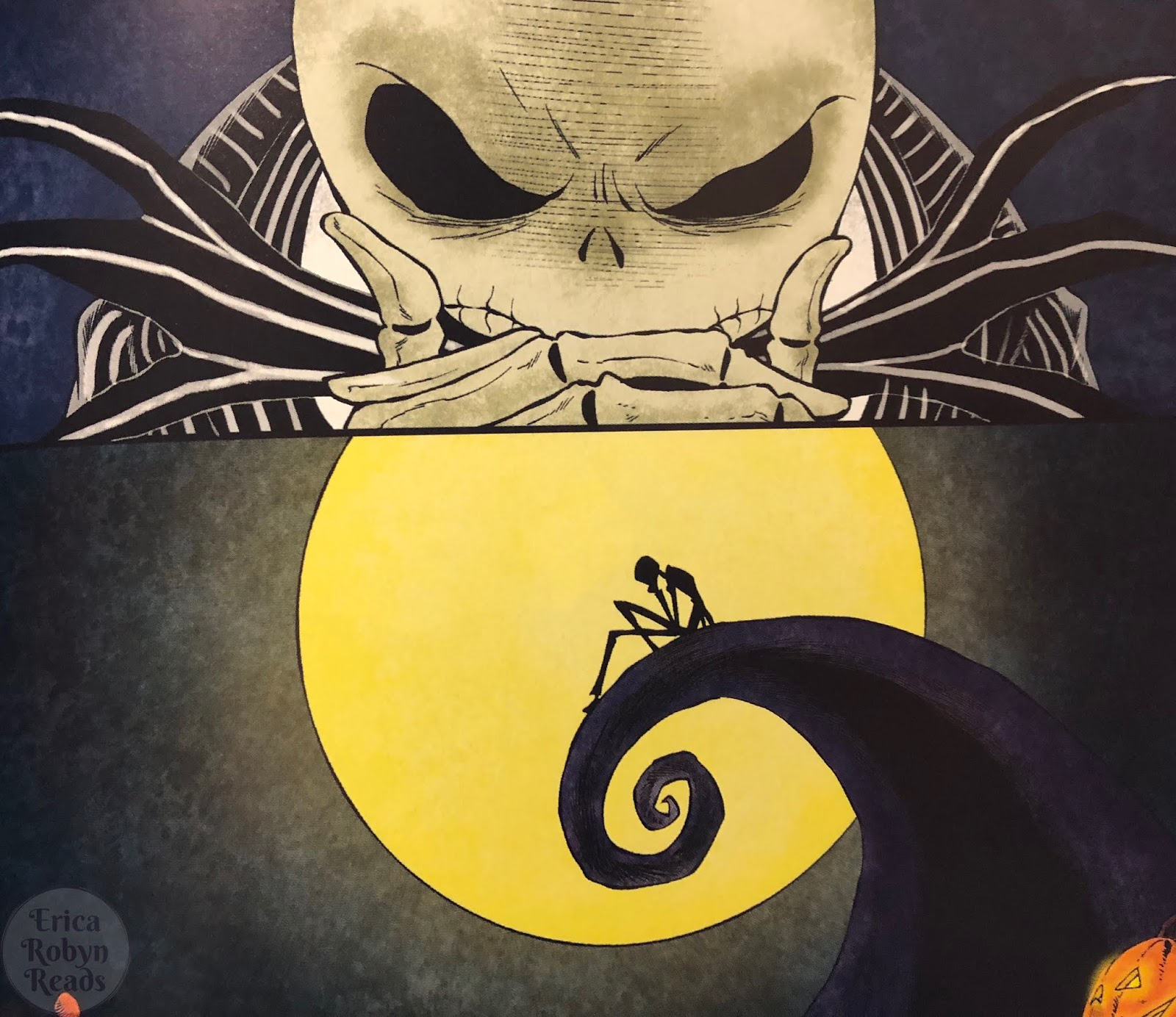 Erica Robyn Reads: [Graphic Novel Review] Nightmare Before Christmas ...