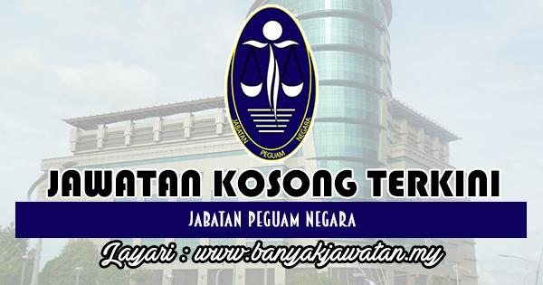 Jawatan Kosong 2018 di Jabatan Peguam Negara