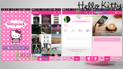 Instagram Mod Hello Kitty Apk Clone