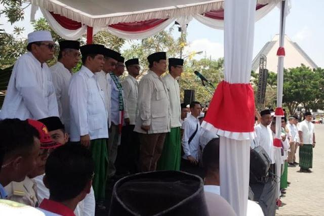 Prabowo Jadi Pembina Apel Hari Santri Nasional di Tebuireng