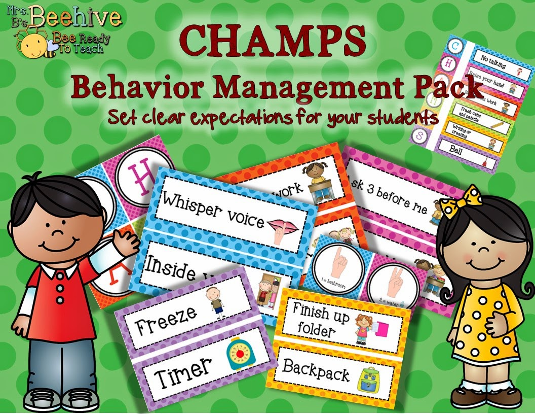 CHAMPS Behavior Management - Mrs. B's Beehive