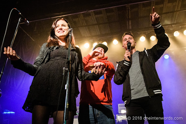 Josie Matt and Carlin at Indie88's Up in Smoke Legalization Event at The Phoenix Concert Theatre on October 17, 2018 Photo by John Ordean at One In Ten Words oneintenwords.com toronto indie alternative live music blog concert photography pictures photos