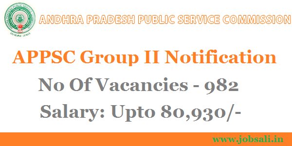 Appsc group 2 Notification of Latest Government Jobs in AP, APPSC Group 2 exam date