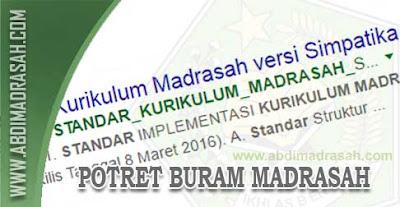 Potret Buram Madrasah, Struktur Kurikulum Di Tentukan Oleh Aplikasi Bukan Oleh Menteri