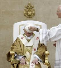 Piero Marini and Pope Benedict