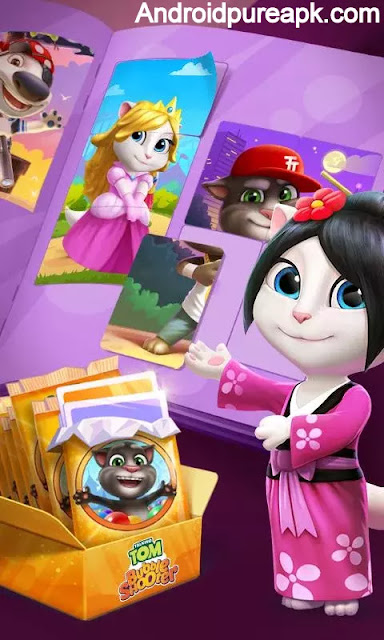 Talking Tom Bubble Shooter Mod Apk