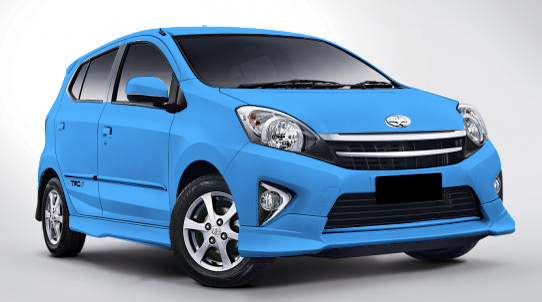 Warna New Agya Trd Beda Grand Veloz 1.3 Dan 1.5 Toyota 2013