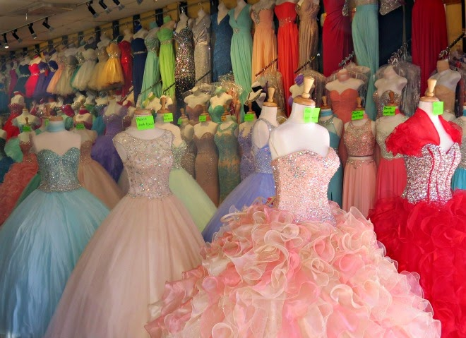 The Santee Alley: Santee Alley Prom Shopping Guide
