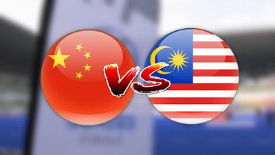 Live Streaming China vs Malaysia Siri Hoki Akhir 28.4.2019