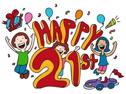 happy 21th birthday quotes happy 21th birthday cards happy 21th birthday images happy 21th