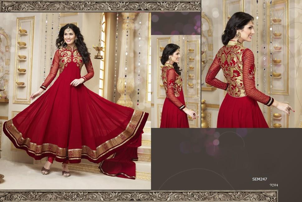 Floor Length Designer Wedding Anarkali Suit New Arrival Ankle