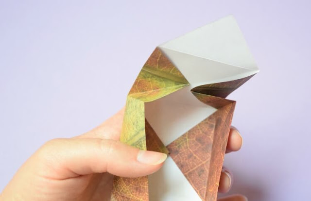 Origami Treasure Boxes.  Great fine motor paper craft for kids, perfect for storing all of your children's' little treasures!