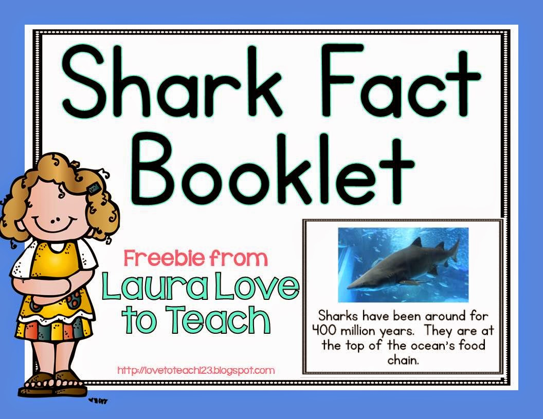 Love To Teach Shark Week Blog Hop