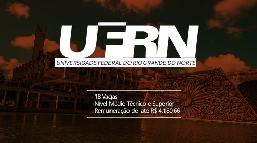 UFRN 2019: Concurso para Técnicos Administrativos