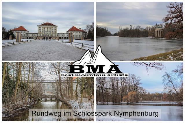 wandern in München Schloss Nymphenburg outdoor blog