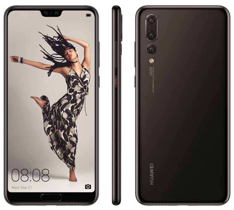 """Huawei P20 Lite, P20, and P20 Pro's """"official"""" press renders leak!"""