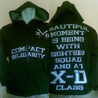 Hoodie (Sweater Kupluk) SMU 8 Bogor