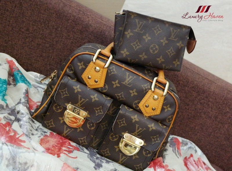 louis vuitton monogram canvas manhattan pm review