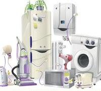 Varios electrodomésticos juntos