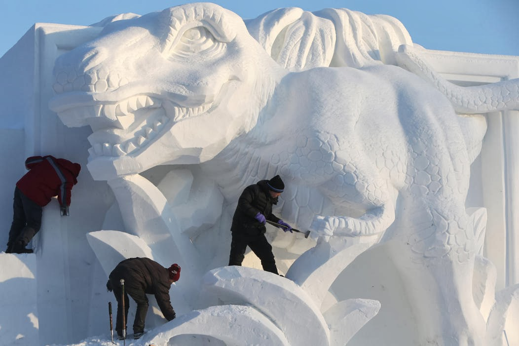 26th China Harbin International Snow Sculpture Art Expo