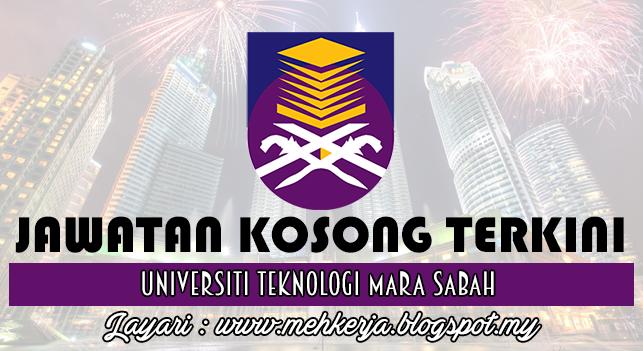 Jawatan Kosong Terkini 2016 di Universiti Teknologi MARA Sabah