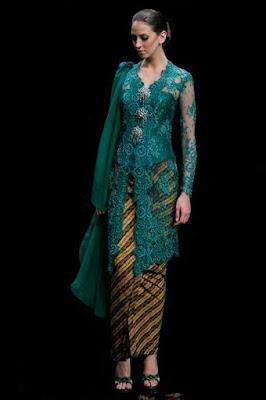 Model Kebaya Lamaran Kartini Modern