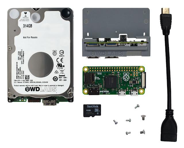 WD PiDrive Node Zero