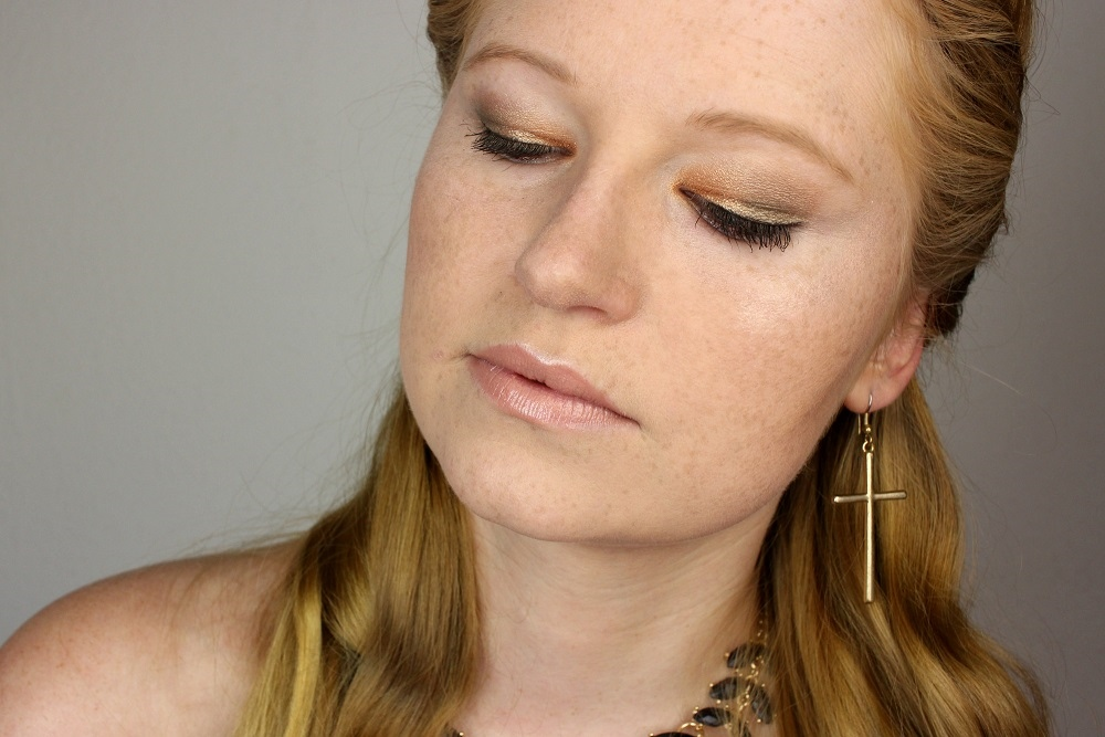70er, alcina, frisur, gold, grün, herbst, inspired, lidschatten, lippenstift, locken, look, make-up, natural hippie, natürlich, natürliche schönheit, nude, review, swatches, tragebilder, trends