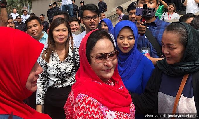 Tukang emas Lubnan saman Rosmah
