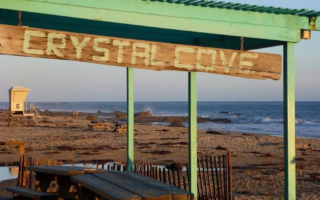 Crystal Cove State Park em Laguna Beach