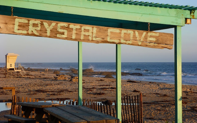 Visita a Crystal Cove State Park em Laguna Beach