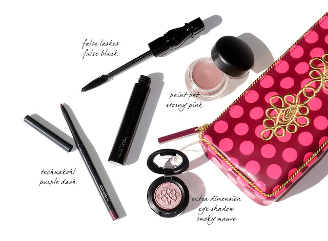 MAC Nutcracker Sweet Plum Eye Bag - The Beauty Look Book