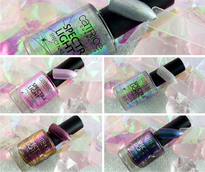 Catrice Spectra Light Effect Nail Laquers, Swatches, Catrice Sortiementsupdate Frühling Sommer 2018
